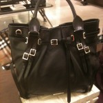 Black Burberry bag