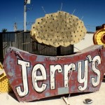 Jerry's Nugget and Horseshoe sign