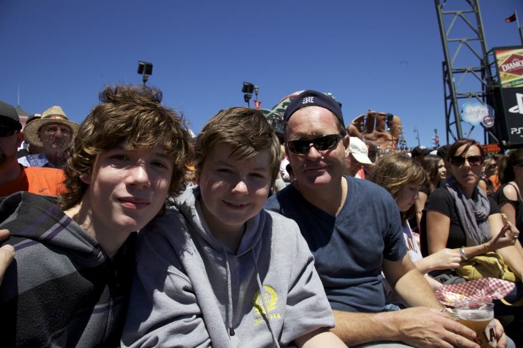 Luke, Tom and Roo