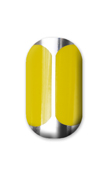 Yellow on silver Minx