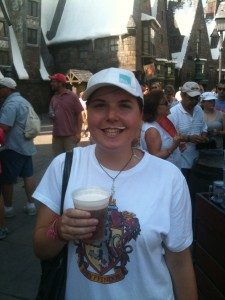 A Butter Beer mo-ment