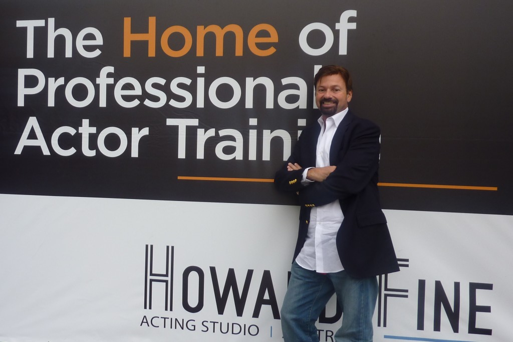 Howard Fine at his Melbourne Acting Studio
