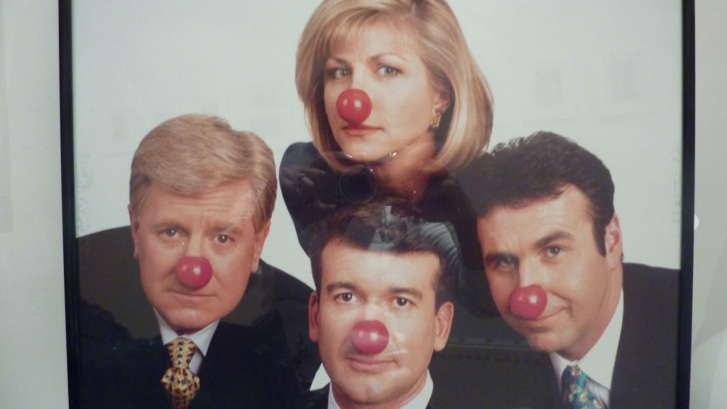 Red Nose Day promo shot