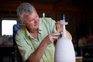 Master Potter Ted Secombe