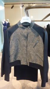 Urban weave bomber jacket $800