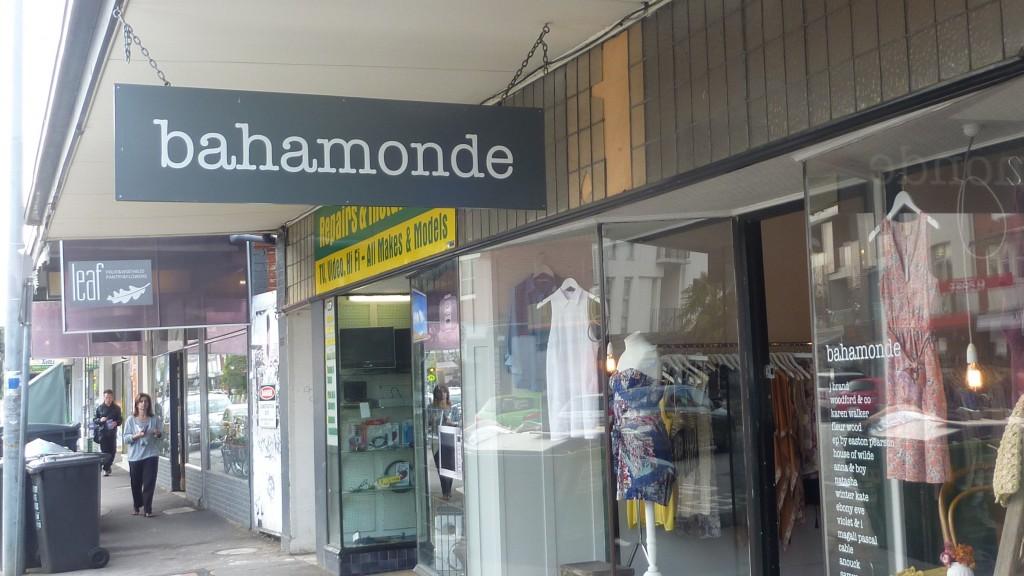 Bahamonde in Ormond Road, Elwood