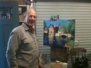 Artist John Hansen