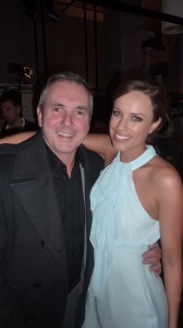 Alan Fletcher and Jessica McNamee