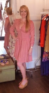 Indigo dress $179