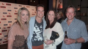 Kate Arnott, Brad Green, Catherine Chisolm and Simon Bones