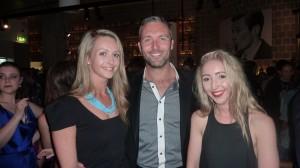 Michelle Ronan, Glen Moriarty and Paige McKenzie