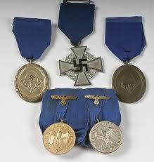 Nazi war medals - generic photo