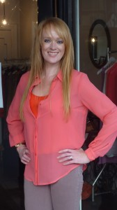 Viktoria and Woods August keyhole shirt $277 with Red singlet Milk at Thistle $139
