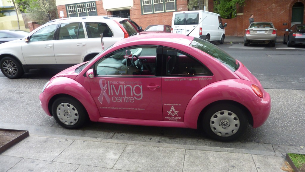 The THINK PINK Living Centre Car