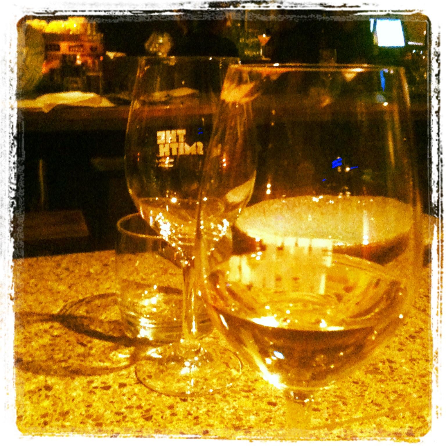 My wine of choice - chardonnay.