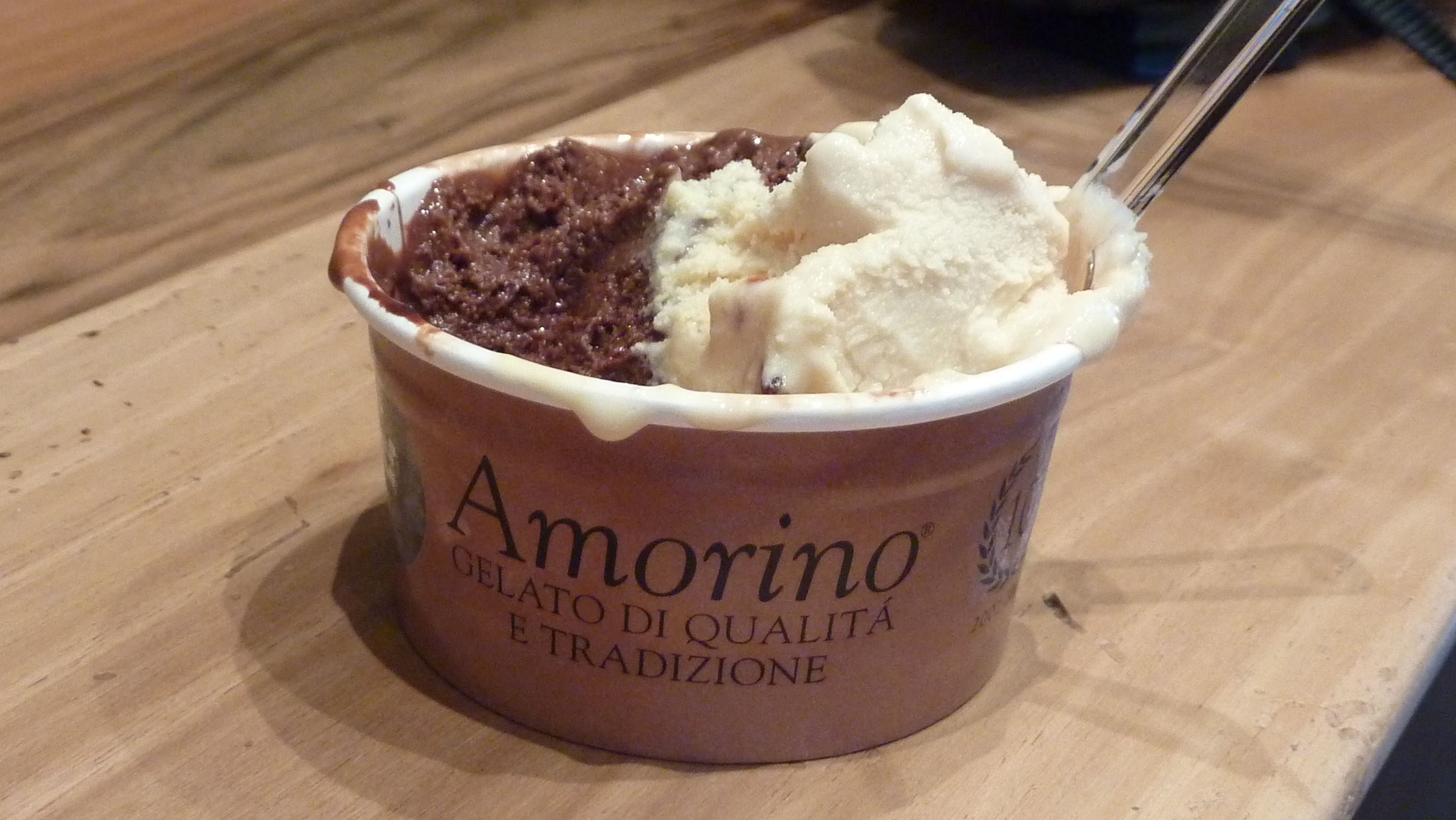 The best ice-cream I've ever eaten - Amorino...