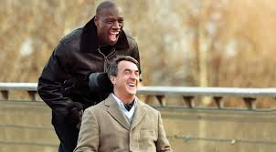 Driss (Omar Sy) and Phillipe (Francois Cluzet)