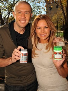 Mitch Catlin and Sonia Kruger
