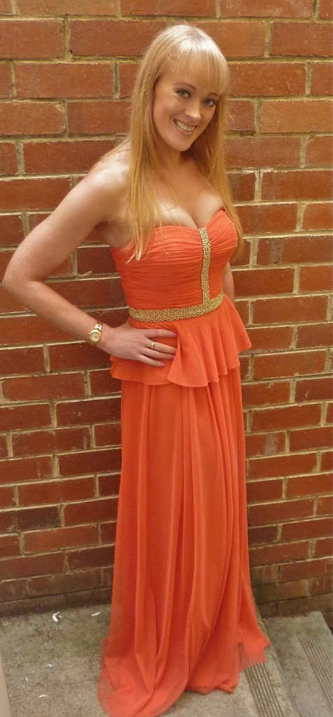 Kendra gown - RRP $460