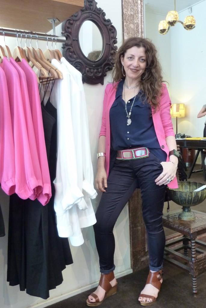 Fashion designer Teresa Liano