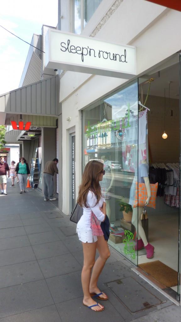 Sleep N Around store in Chapel Street, South Yarra
