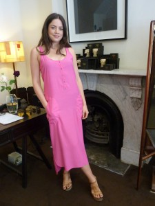 Pink Malo Slip Dress $295