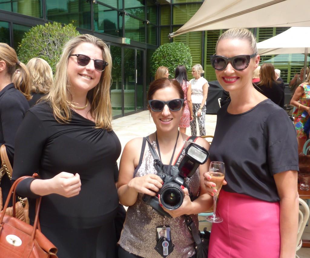 Alice Coster (Herald Sun) JulieKiriacoudis (Herald Sun) and Sarah Gale (AMPR publicist)