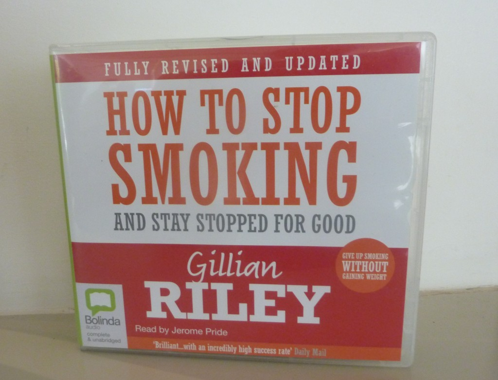 The CD version of Gillian Riley's book 'How to Stop Smoking'