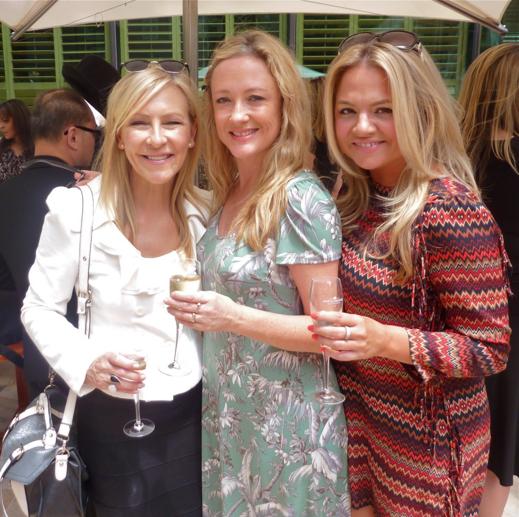 Jo Hall, Amber Petty and Kate McGrath
