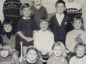 Me - top left, and Brigitte - middle row, far right