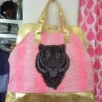 Pink Lion bag $350