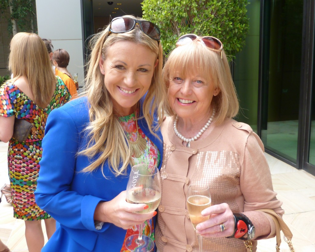 Michelle Stamper (Channel Nine Publicist) and Ann Morrison (former head of AMPR)