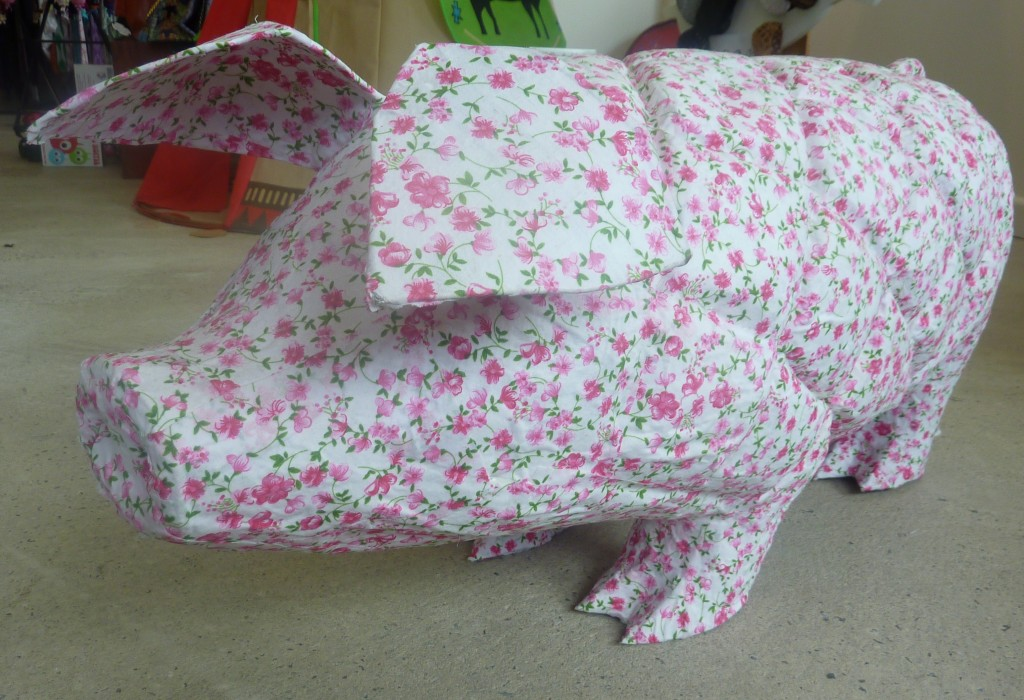 Paper macho pigs $150