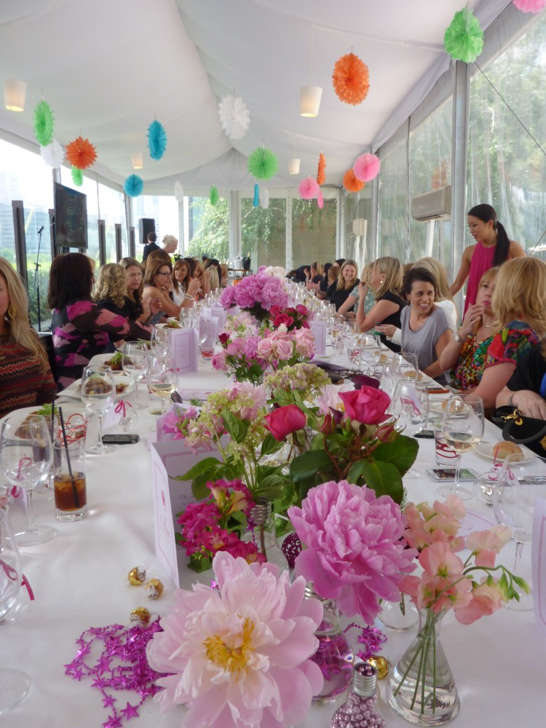 Women in Media lunch gets underway at Breezes