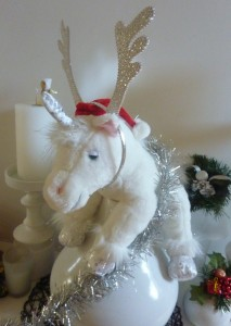 Christmas unicorn