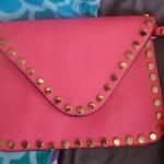 Pink stud bag $29.95