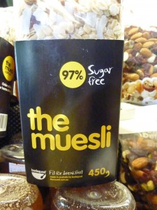 The Muesli - 97% sugar free