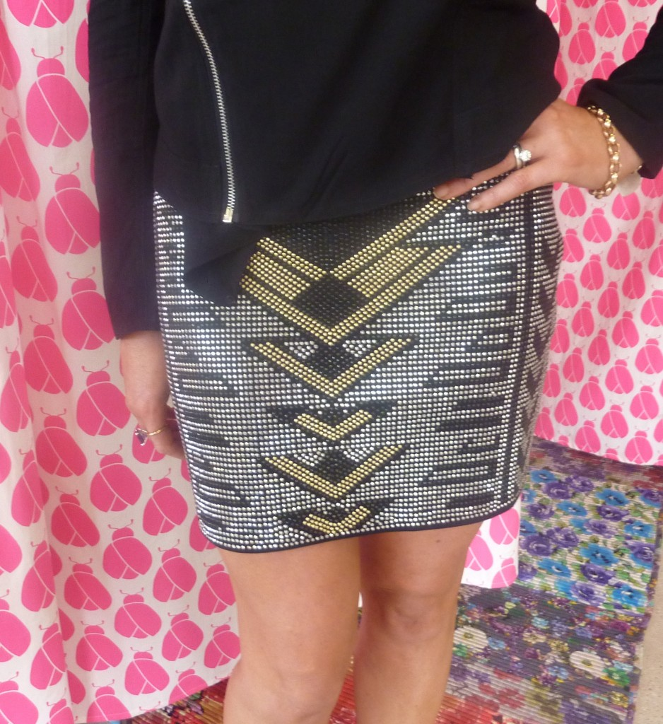 My Direction studded skirt $59.95