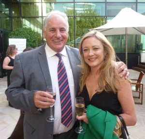 The host, Sam Kekovich, caught up with Amber Petty