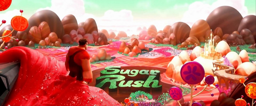 Sugar Rush land