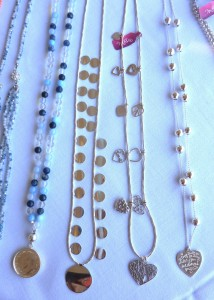 Other silver options: Multi-heart strand $220 or a single heart, $210