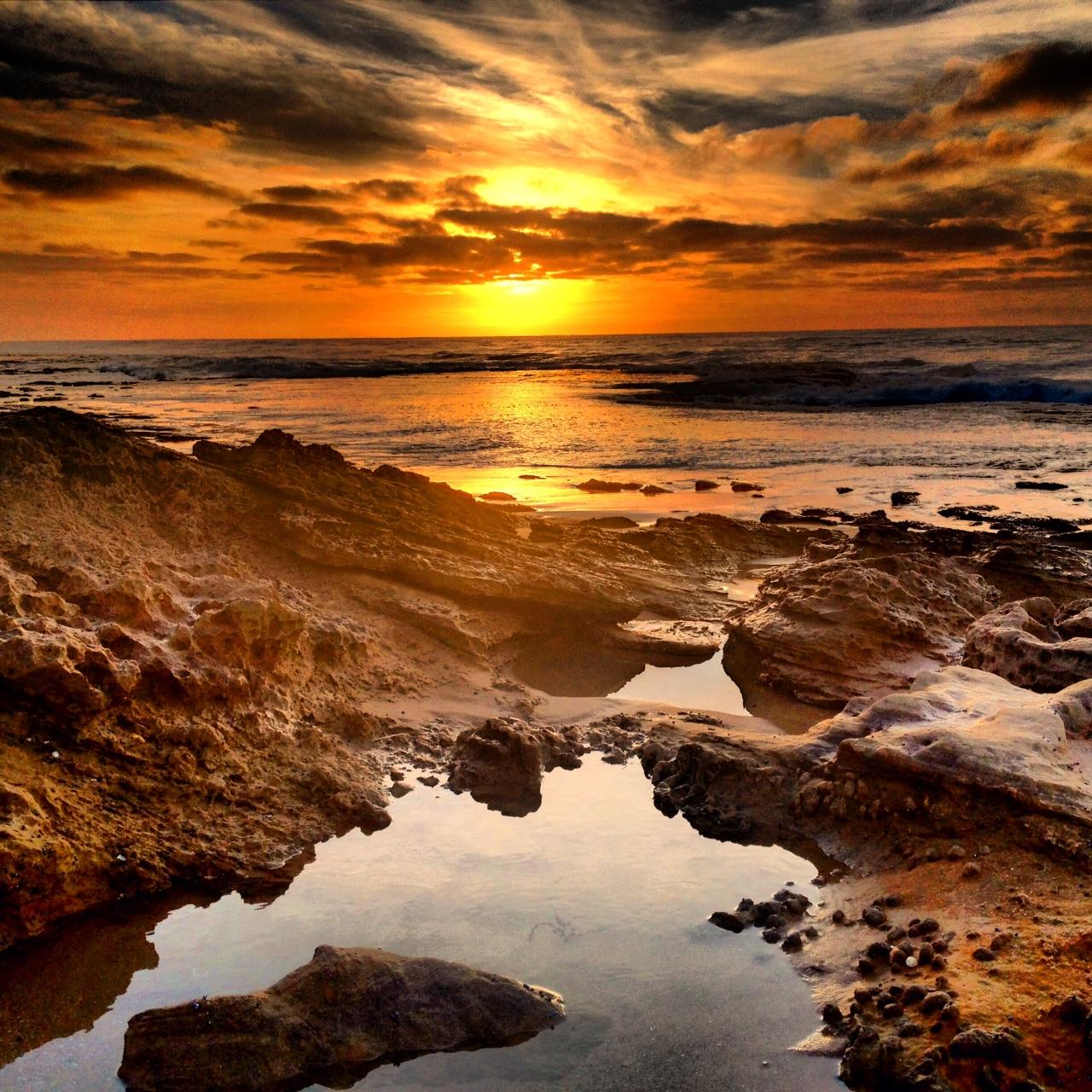 Sunrise at Anglesea by Alan Fletcher
