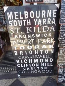 Melbourne canvas - $75 (80 x 140cm)