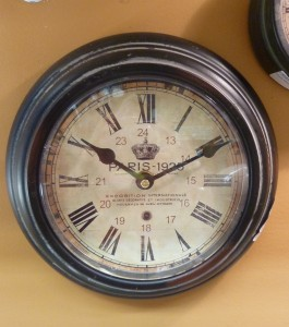 Vintage Paris Wall Clock - $22