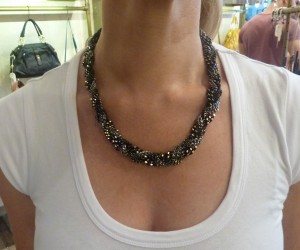 Ripple effect necklace - $79.00