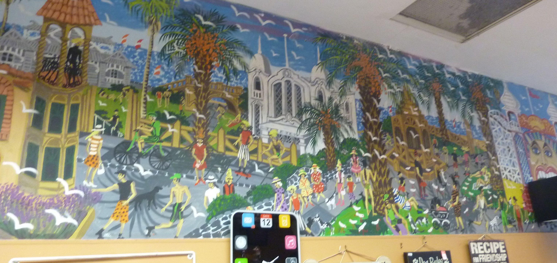 St Kilda mural