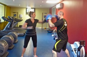 Boxing with Ross