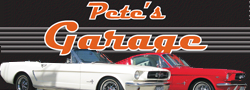 Pete's Garage ad