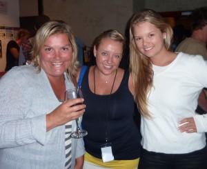 Anna, Melanie and MIa