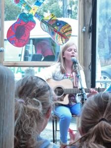 Singer Georgia Hughes captivates her audience